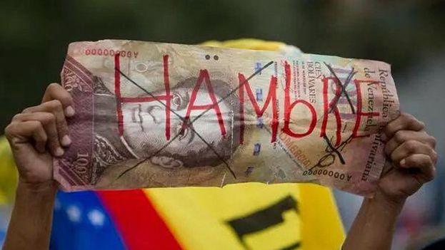 La inflación en Venezuela este año podría llegar a más de seis cifras, dijo el FMI. (EFE)