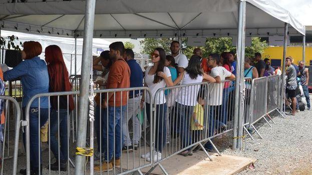 La gran mayoría de los inmigrantes venezolanos se instalan a unos 200 kilómetros más al sur, en Boa Vista, la capital de Roraima. (EFE)