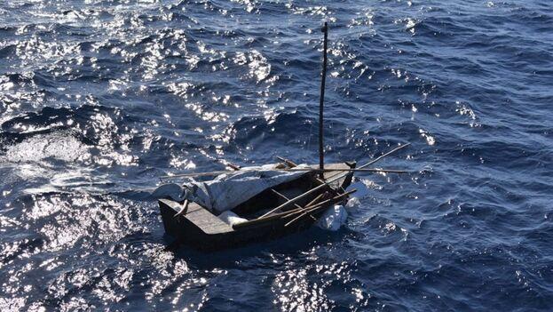 Las cifras de interceptaciones en el mar se han duplicado en los últimos meses. (Guardia Costera)