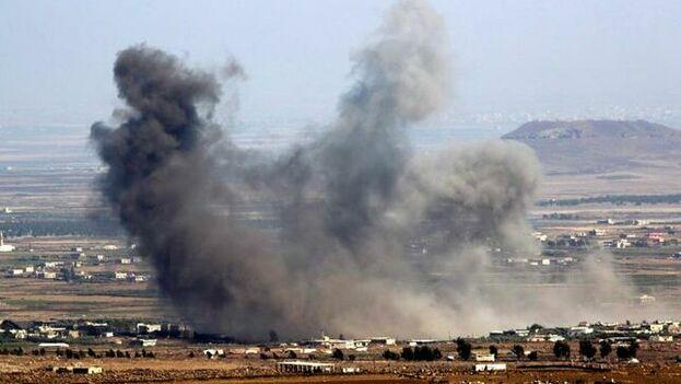 La investigación del Times se centra en cuatros ataques registrados los días 5 y 6 del pasado mes de mayo, un momento en el que fuerzas rusas y del Gobierno sirio llevaban a cabo operaciones para tratar de arrebatar a los rebeldes uno de sus últimos territorios en el noroeste del país. (EFE)