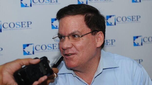 El extitular del Cosep, José Adán Aguerri Chamorro, fue trasladado a las cárceles preventivas de la Dirección de Auxilio Judicial Nacional, en Managua. (La Prensa)