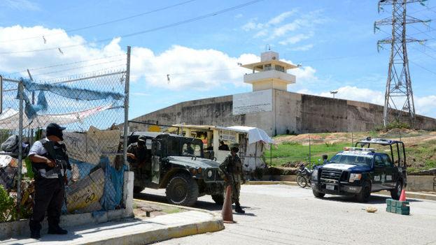 La pelea de este jueves dejó un saldo de 28 fallecidos en el penal de Acapulco. (EFE)