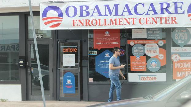 La nueva legislación deroga también el mandato de seguro individual requerido por la reforma sanitaria del expresidente Barack Obama a partir de 2019. (14ymedio)