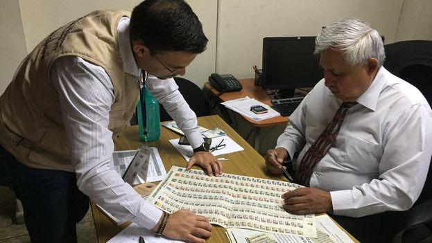 Las elecciones legislativas salvadoreñas contaron con la supervisión de la OEA. (@JuanPabloPozoB)