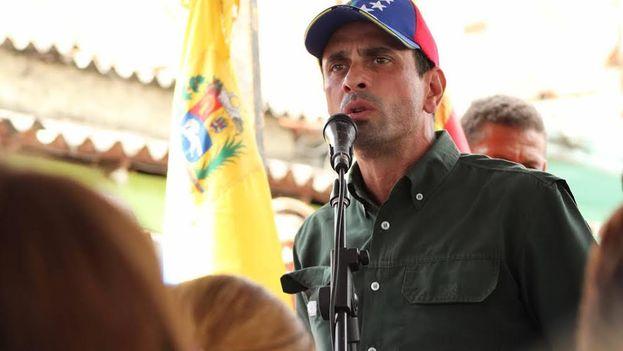 El líder opositor Henrique Capriles. (@unidadvenezuela)