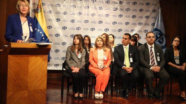 La Asociación de Alcaldes por Venezuela pidio a la fiscal general, Luisa Ortega Díaz, procesar a magistrados que hayan usurpado facultades de otros poderes públicos, como la Asamblea Nacional. (@lortegadiaz)