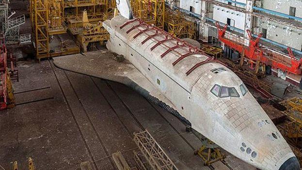 La maldición del transbordador soviético que efectuó un solo vuelo espacial. (EFE)