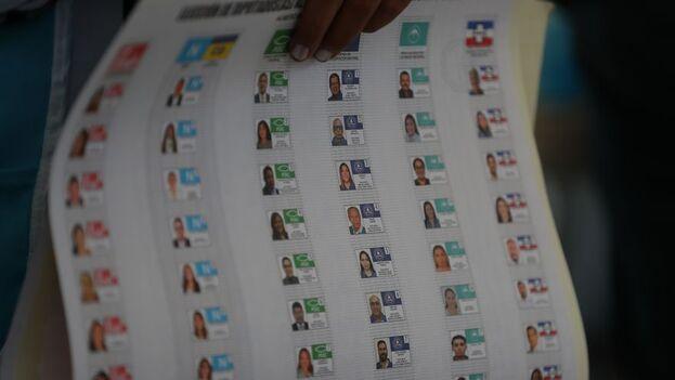 El mandatario aseguró en su redes sociales que el partido Nuevas Ideas (NI), dirigido por un primo suyo, obtendría al menos 53 diputados de los 84. (EFE)