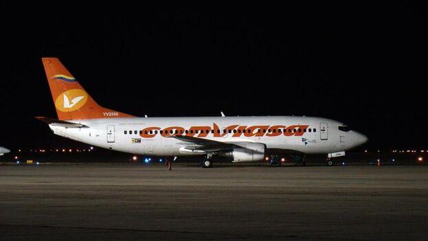El mandatario acompañó el mensaje de una foto de un avión de la aerolínea estatal venezolana Conviasa. (Nicolás Maduro)