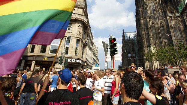 Una manifestación de la comunidad LGBTI en Alemania. (germany.travel)