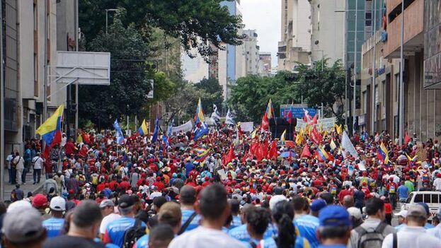 La marcha está convocada para el mismo día que una promovida por la oposición. (@Mippcivzla)
