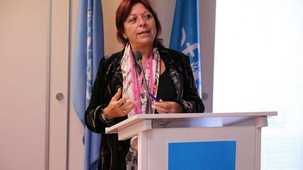 La directora regional de Unicef, Marita Perceval ha recordado que 2 de cada 3 niños son víctimas de violencia en sus hogares o lugares de convivencia. (@Marita_UNICEF)