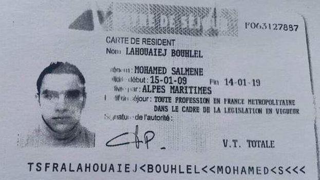 El autor de la masacre en Francia, Mohamed Lahouaiej Bouhlel