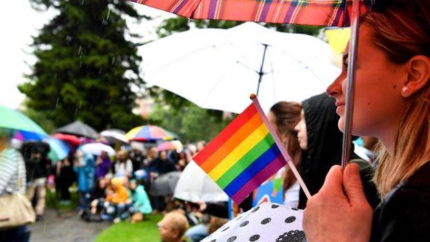 El matrimonio gay estaba permitido en el país desde el 5 de mayo de 2017. (EFE)