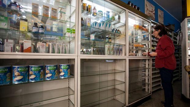 """La falta de medicinas en Venezuela llevó al Parlamento, de mayoría opositora, a declarar una """"crisis humanitaria de salud"""" durante 2016. (EFE)"""
