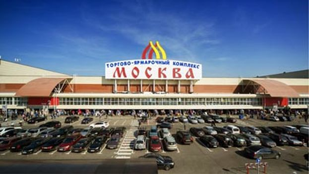 El mercado Sadovod de Moscú. (Ancón)