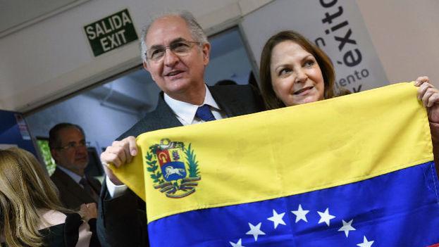 El exalcalde metropolitano de Caracas y opositor venezolano, Antonio Ledezma. (EFE)