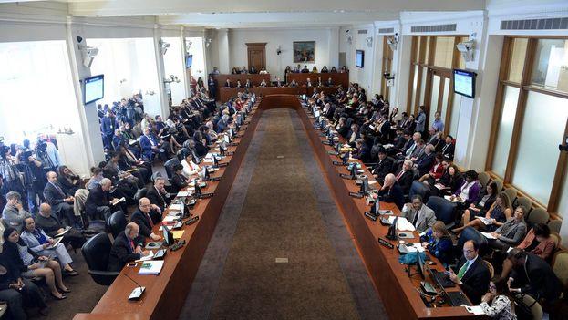 Los 34 Estados miembros deberán pronunciarse sobre un tema que la organización ha evitado durante años. (OEA)