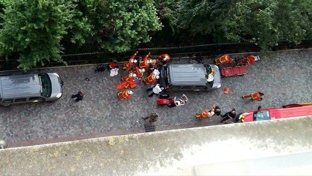 De los seis militares heridos en el atropello, dos se encuentran en peor estado, pero no se teme por la vida de ninguno. (BFMTV)