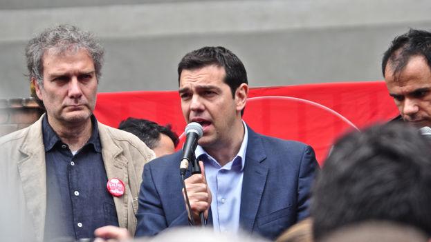 El primer ministro griego, Alexis Tsipras, el pasado mes de mayo. (D. VICO / CC)