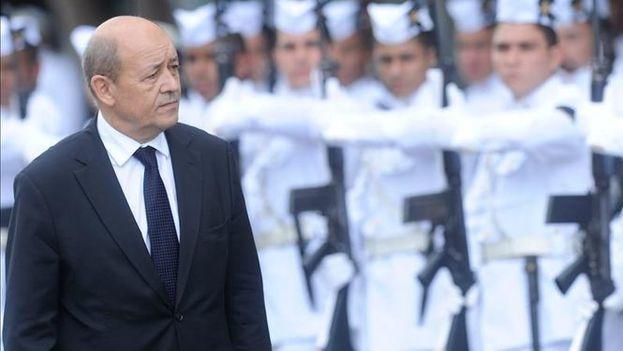 El ministro francés de Defensa, Jean-Yves le Drian. (EFE)