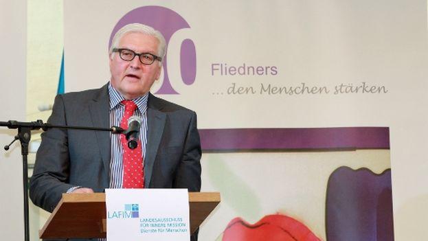 El ministro alemán de Exteriores, Frank-Walter Steinmeier. (SPD)