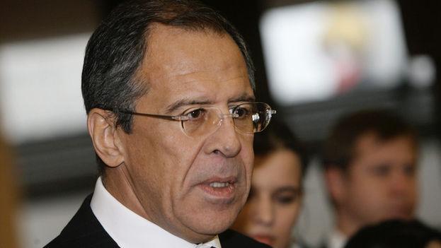 El ministro de Exteriores ruso, Serguéi Lavrov. (CC)