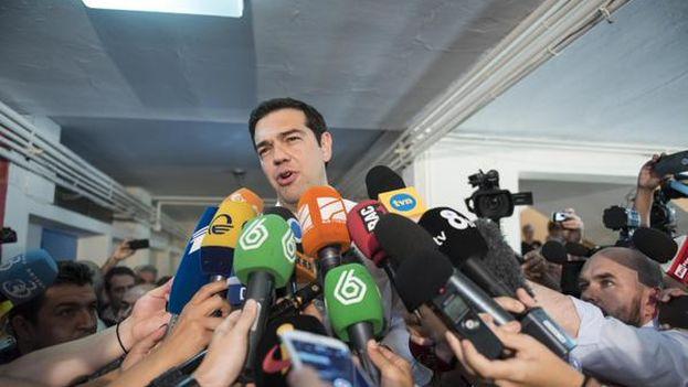 El primer ministro de Grecia, Alexis Tsipras. (@tsipras_eu)