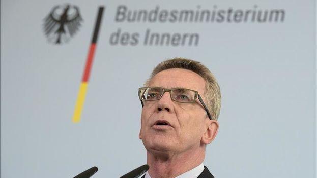 El ministro alemán del Interior, Thomas de Maizière. (EFE)