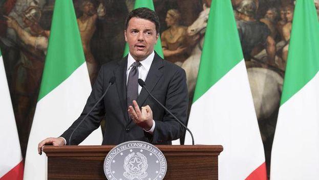 El primer ministro de Italia, Matteo Renzi. (EFE)
