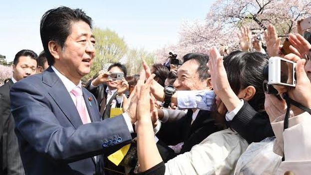 El primer ministro de Japón, Shinzo Abe. (@AbeShinzo)