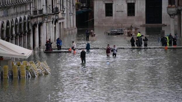 Por precaución, todos los museos municipales de Venecia estarán cerrados durante toda la jornada, a excepción del Museo Correr, dedicado a la historia de la ciudad. (EFE)