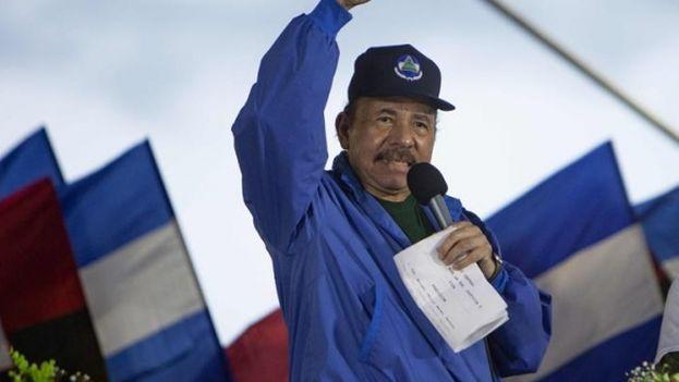 El presidente nicaragüense Daniel Ortega no anticipará las elecciones previstas para noviembre de 2021. (EFE)