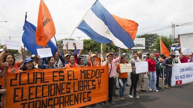 La oposición nicaragüense, fragmentada, tendrá que enfrentarse a un Ortega blindado por los poderes del Estado, el Ejército y la Policía.