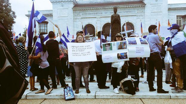 Los nicaragüenses contrarios a Ortega volverán a salir a las calles el domingo para pedir la liberación de los presos políticos. (@CIDH)