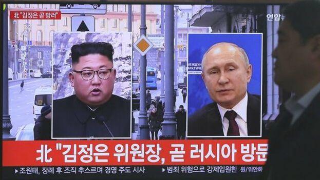 El líder norcoreano tiene previsto llegar a Valdivostok mañana, según la agencia oficial rusa 'RIA Novosti'.
