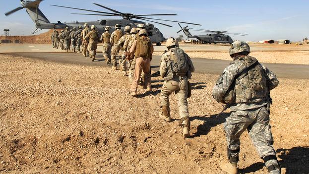 El ejército norteamericano y el iraquí entrenan para hacer frente al Estado Islámico. (Flickr/US Army)