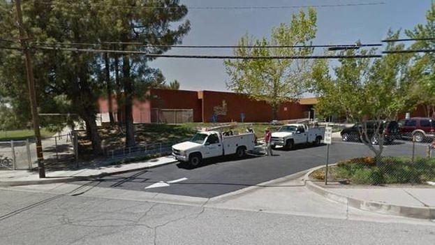 Exterior de la escuela North Park, en San Bernadino, California. (Google Maps)