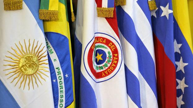 La decisión fue notificada a la canciller venezolana, Delcy Rodríguez, por sus homólogos de los otros países miembros. (Mercosur)
