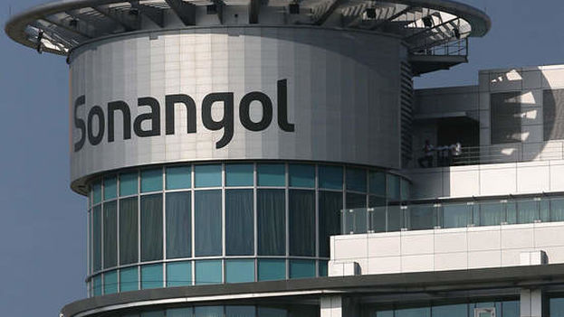 Las oficinas de Sonangol.