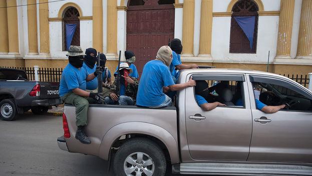 """El tres de julio el régimen inició la llamada """"operación limpieza"""" en La Trinidad, Estelí. (Carlos Herrera/Niú)"""