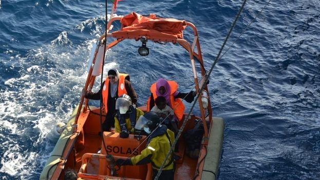 La operación Tritón 2014 de Frontex. (Unión Europea)