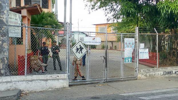 La oposición venezolana publicó imágenes de los centros de votación vacíos. (VoluntadPopular)