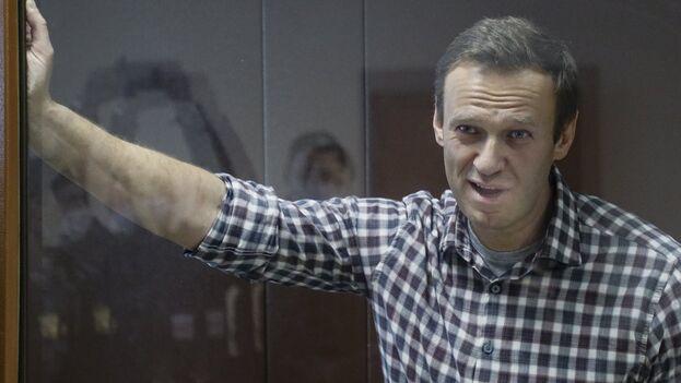 El opositor ruso Alexéi Navalni cumple una condena de dos años y medio de prisión. (EFE/EPA/Yuri Kochetkov/Archivo)
