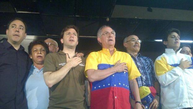 E opositor alcalde de Caracas Antonio Ledezma. (Facebook)