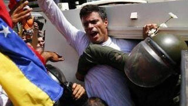 El opositor Leopoldo López. (Twitter/@leopoldolopez)