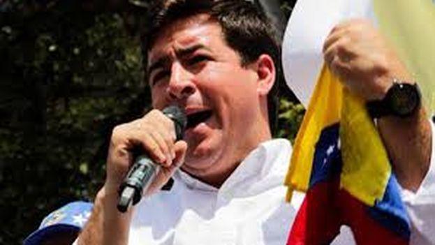 El opositor venezolano Daniel Ceballos.