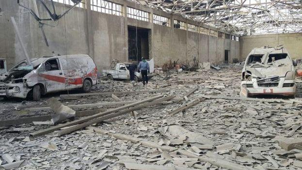 Algunas organizaciones de derechos humanos se han unido a la ONU para reclamar seguridad y poder entrar en Siria a asitir a los damnificados por los bombardeos. (@MSF_Espana)