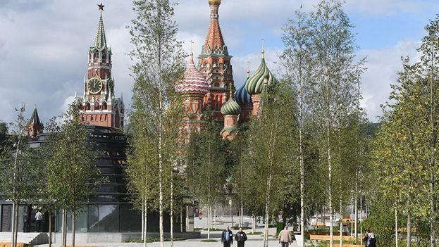 El parque Zariadie, a escasos metros del Kremlin. (SN)