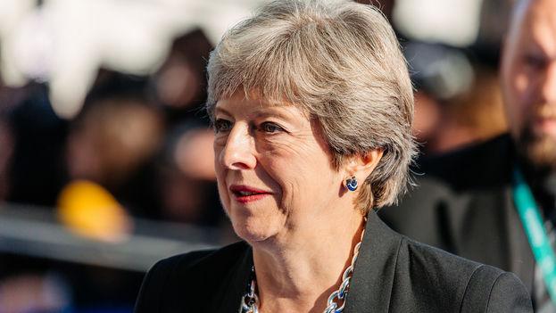 Los partidarios de un 'brexit' duro en el partido conservador británico pueden acabar este miércoles con la primera ministra. (EU2017EE)
